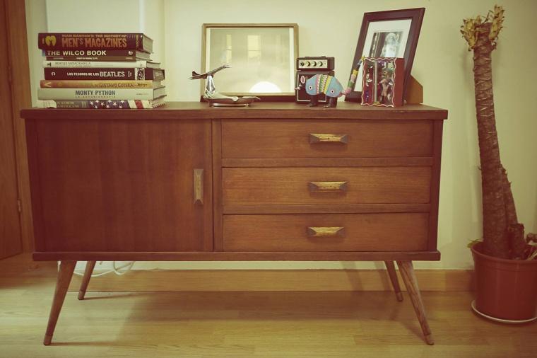 Cómoda estilo vintage, restauración de muebles