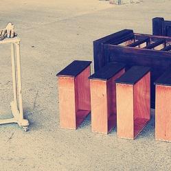 Tapaporos madera, restauración de muebles