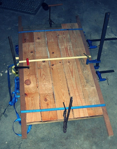 Encolado de madera, restauración de muebles