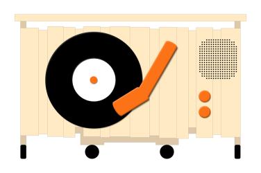 Dj Stand, diseño de Pepe Terán, alzado