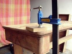 Encolado madera, carpintería, restauración de escritorio