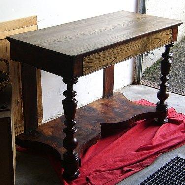 Sellado, Restauración de escritorio de madera