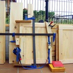 Puertas de madera, aparador, construcción de muebles
